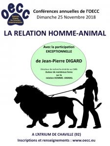 conférence des comportementalistes animaliers